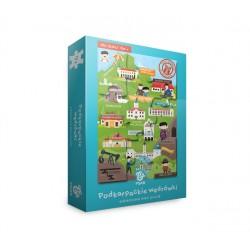 Podkarpackie wędrówki maxi puzzle