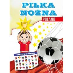 Piłka nożna. Poland. Kolorowanka