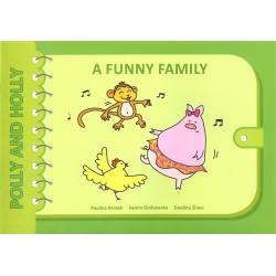 A funny family Polly and Holly