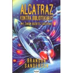 Alcatraz kontra Bibliotekarze. Zakon rozbitej soczewki tom 4