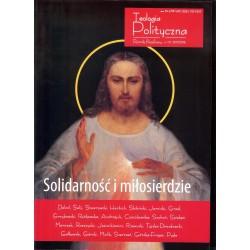 Teologia polityczna 10/2017-2018 Solidarność i miłosierdzie