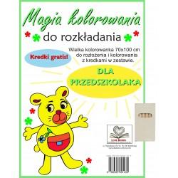 Magia kolorowania dla przedszkolaka
