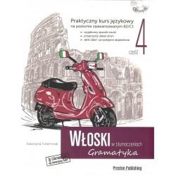 Włoski w tłumaczeniach. Gramatyka 4 +CD