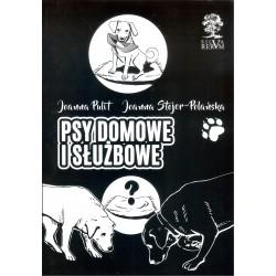 Psy domowe i służbowe (wersja czarno-biała)