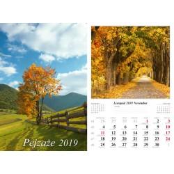 Kalendarz 2019 Pejzaże (13 plansz)