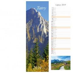 Kalendarz paskowy 2019 Tatry (13 plansz)