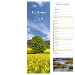 Kalendarz paskowy 2019 Pejzaże (13 plansz)