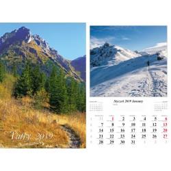 Kalendarz 2019 Tatry (7 plansz)