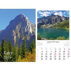 Kalendarz 2019 Tatry (13 plansz)