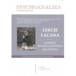 Psychoanaliza wyd. specjalne 2011 Lekcje Lacana