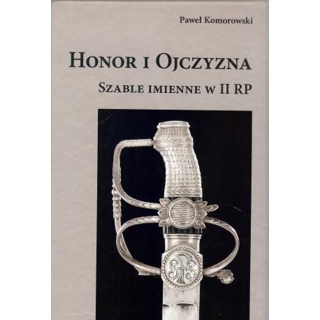 Honor i Ojczyzna. Szable imienne w II RP
