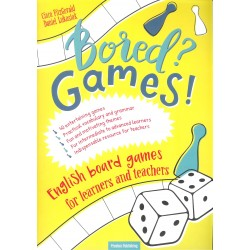 Bored? Games! English board games for learners and teachers. Gry do nauki angielskiego