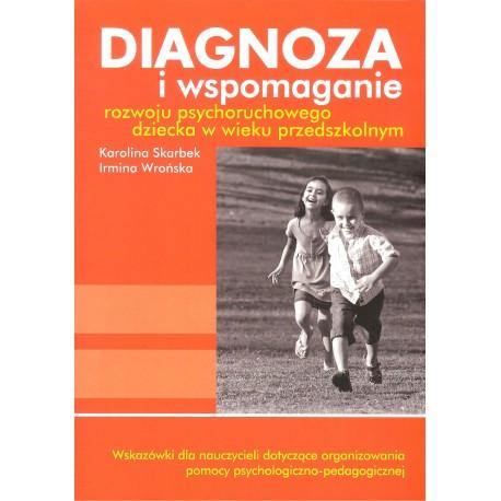 Diagnoza i wspomaganie rozwoju psychoruchowego dziecka w wieku przedszkolnym - książka z płytą CD