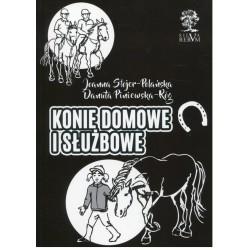 Konie domowe i służbowe (czarno-biała)