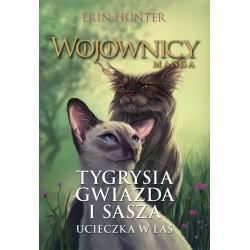 Wojownicy Manga Tygrysia Gwiazda i Sasza. Ucieczka w las.