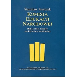 Komisja Edukacji Narodowej Studia i szkice z dziejów polskiej kultury intelektualnej