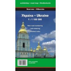 Ukraina 1: 1 100000 Mapa samochodowa