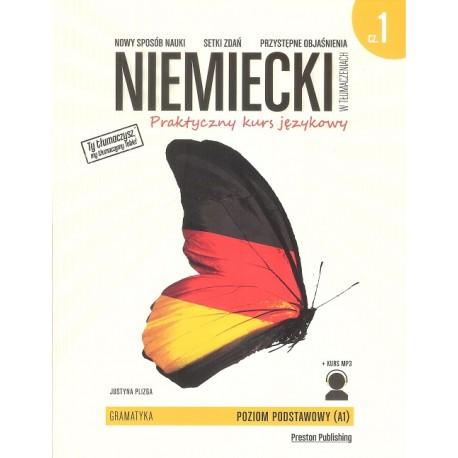 Niemiecki w tłumaczeniach. Gramatyka 1 Wyd. 2 + kurs MP3 do pobrania