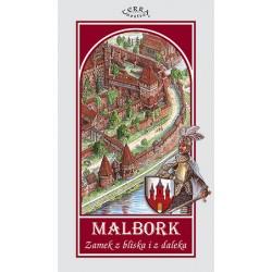 Malbork Zamek z bliska i z daleka Mapa