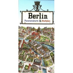 Berlin Plan miasta Panorama