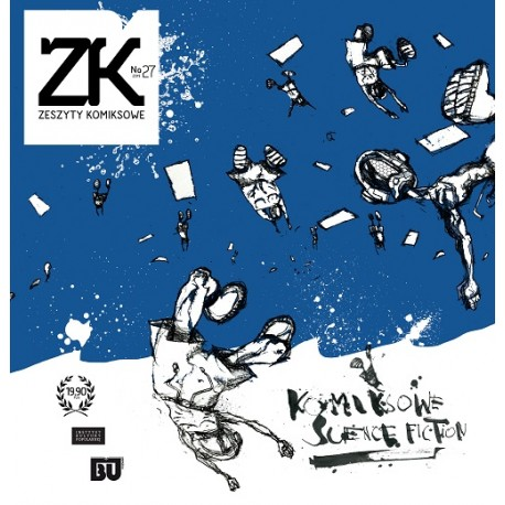 Zeszyty komiksowe Nr 27 Komiksowe science fiction