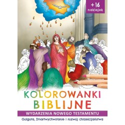 Kolorowanki biblijne Golgota, Zmartwychwstanie