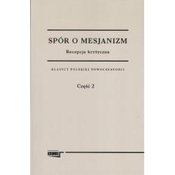 Spór o mesjanizm 2 tomy