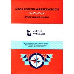 Mapa legend warszawskich