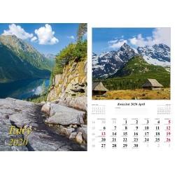 Kalendarz 2020  Tatry 13 plansz