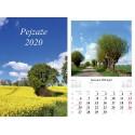 Kalendarz 2020 Pejzaże 7 plansz