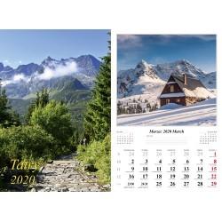 Kalendarz 2020 Tatry 7 plansz