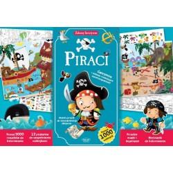 Piraci. Zabawy kreatywne ponad 1000 naklejek