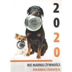 Kalendarz 2020 Nie marnuj żywności