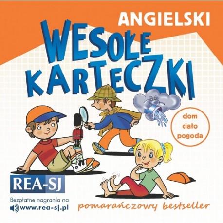 Angielski - wesołe karteczki. Pomarańczowy bestseller