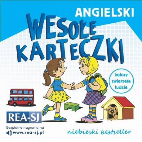 Angielski - wesołe karteczki. Niebieski bestseller