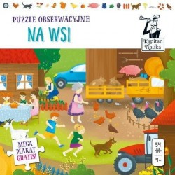 Na wsi puzzle obserwacyjne