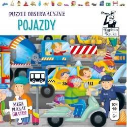 Pojazdy Puzzle obserwacyjne