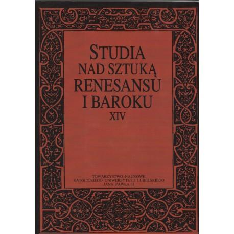 Studia nad sztuką rensansu i baroku XIV