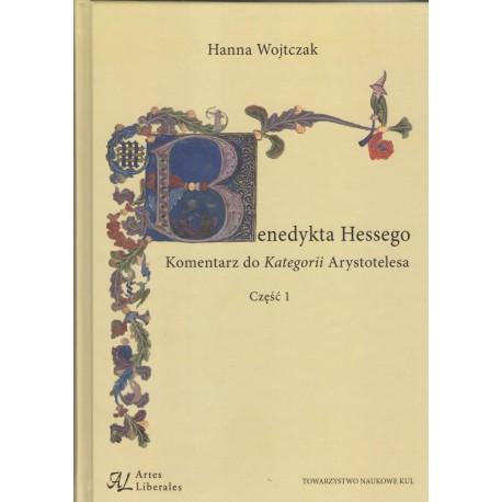 Benedykta Hessego komentarz do kategorii Arystotelesa. Cz 1