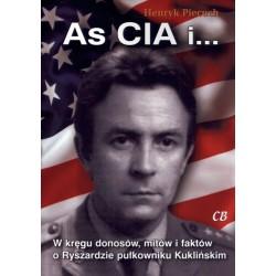 As CIA i ...