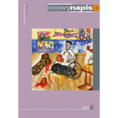 Nowy Napis. Liryka, epika, dramat 4/2019
