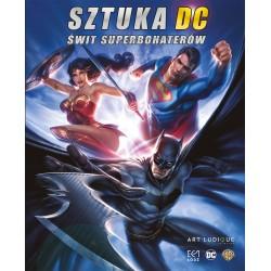 Sztuka DC Świt superbohaterów