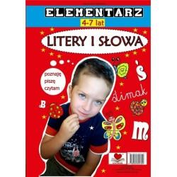 Litery i słowa Elementarz 4-7 lat