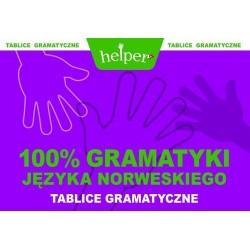 100% gramatyki języka norweskiego. Tablice gramatyczne