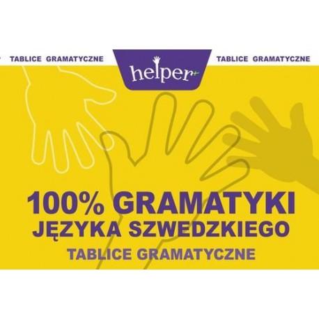 100% gramatyki języka szwedzkiego Tablice gramatyczne