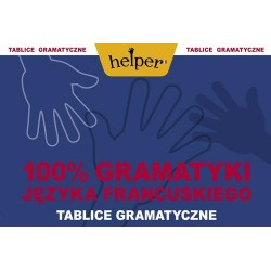 100% gramatyki języka francuskiego Tablice gramatyczne