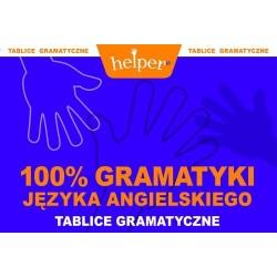 100% gramatyki języka angielskiego. Tablice gramatyczne