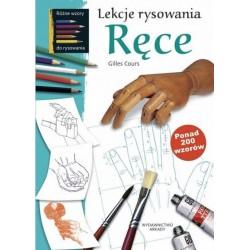 Lekcje rysowania Ręce ponad 200 wzorów
