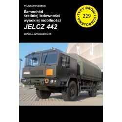 Samochód średniej ładowności wysokiej mobilności  JELCZ 442