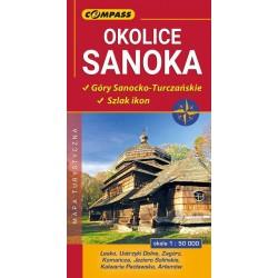 Okolice Sanoka Góry Sanocko-Turczańskie, Szlak ikon